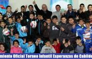 Exitoso lanzamiento Torneo Infantil de escuelas de fútbol municipales