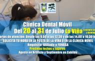 Clínica Dental Móvil atenderá gratis en La Viña
